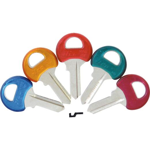 ILCO Master Assorted Colors Coated Padlock Key, M1PC (5-Pack)