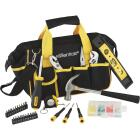 Essentials Around-the-House Homeowner's Tool Set with Black Tool Bag (32-Piece) Image 4