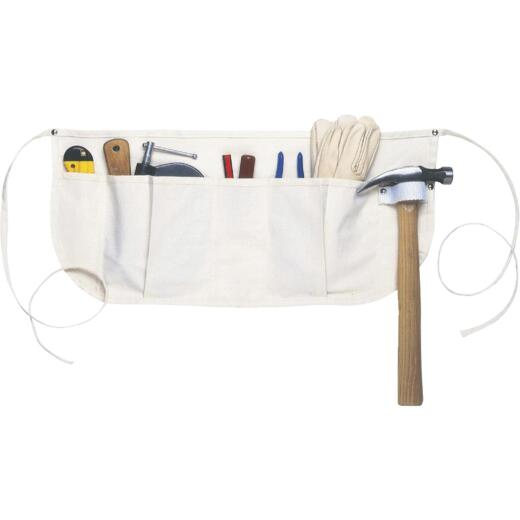 Custom Leathercraft 5-Pocket Canvas Nail Apron