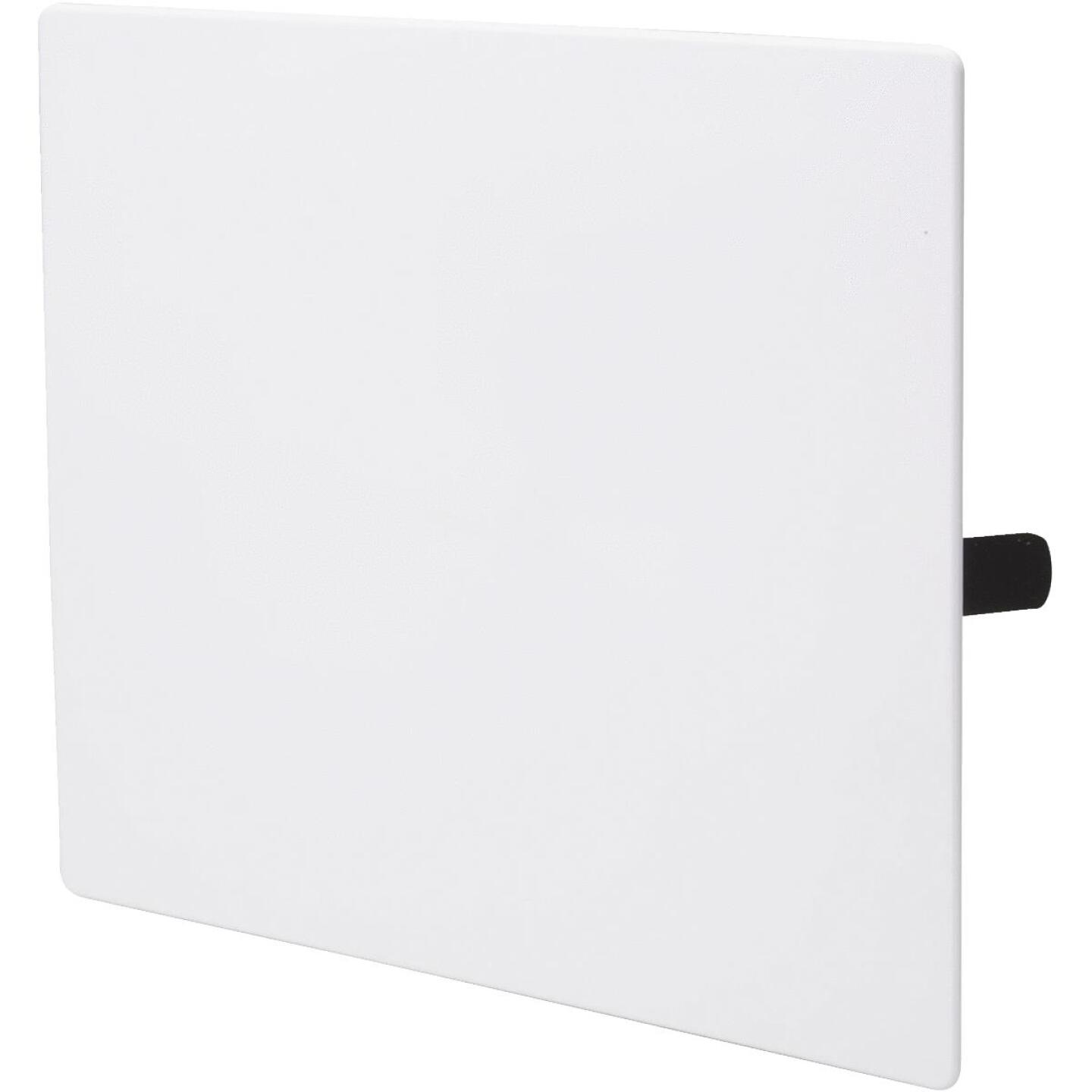 B&K 14 In. x 14 In. White Plastic Wall Access Panel Image 1