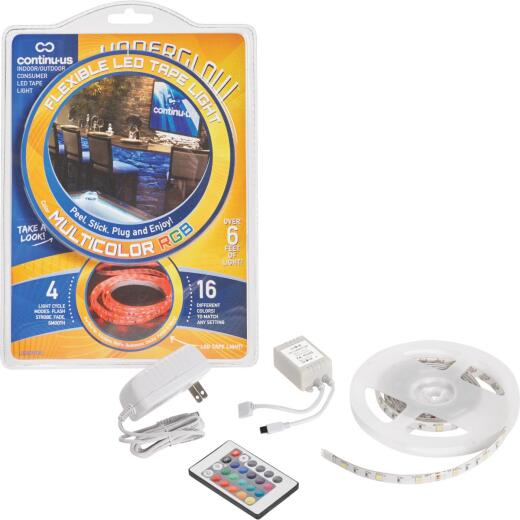 Continu-us Underglow 20 In. Plug-In Multi LED Under Cabinet Light
