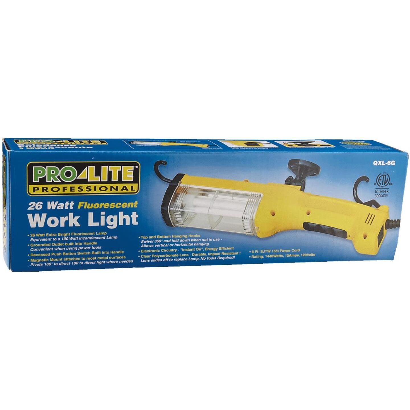 Alert Stamping 26W Fluorescent Trouble Light with 6 Ft. Power Cord Image 2