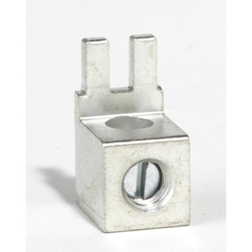 Square D QO #12 to 2 AWG (AI), #14 to 4 AWG (Cu) Tin Plated Aluminum Neutral Lug Terminal Kit