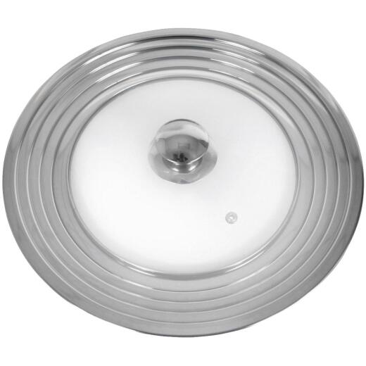 M E Heuck 12 In. Stainless Steel Rim Glass Lid
