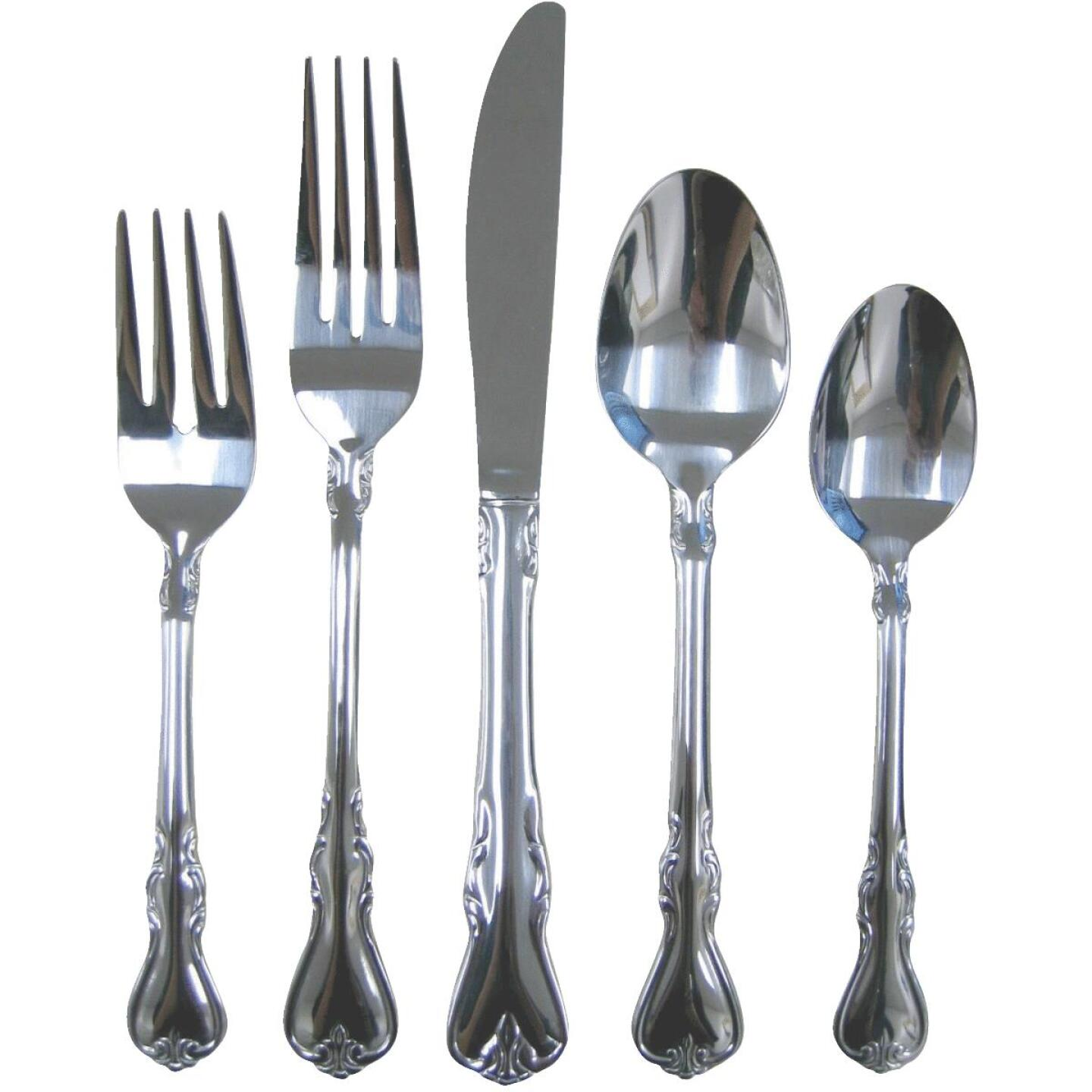Cambridge Silversmith Jessica Flatware Set (20 Piece) Image 1