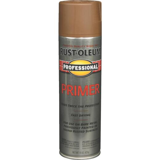 Rust-Oleum Professional Red Oxide 15 Oz. All-Purpose Spray Paint Primer