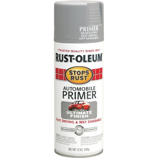 Rust-Oleum Stops Rust Light Gray 12 Oz. Aerosol Automotive Paint Primer