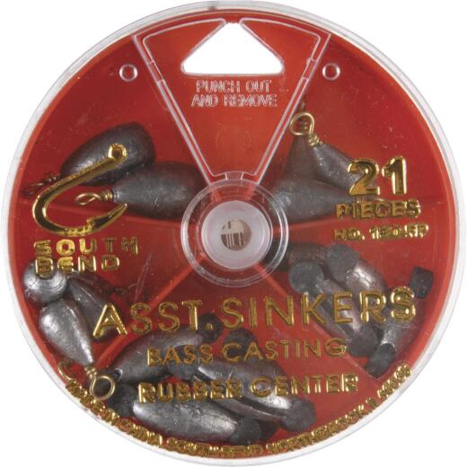 SouthBend 21-Piece Sinker Kit Assortment