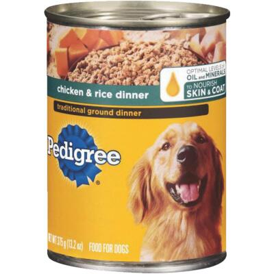 Pedigree Choice Cuts in Gravy Chicken and Rice Dinner Wet Dog Food, 13.2 Oz.