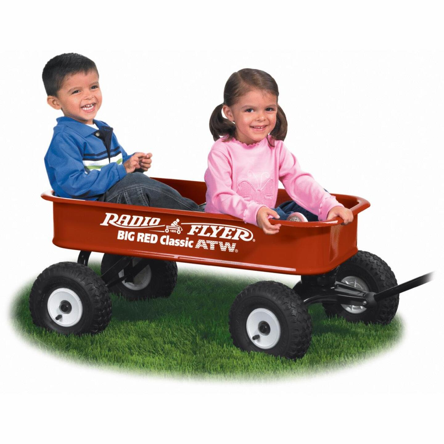 Radio Flyer Big Red Classic 36 In. ATW Wagon Image 3
