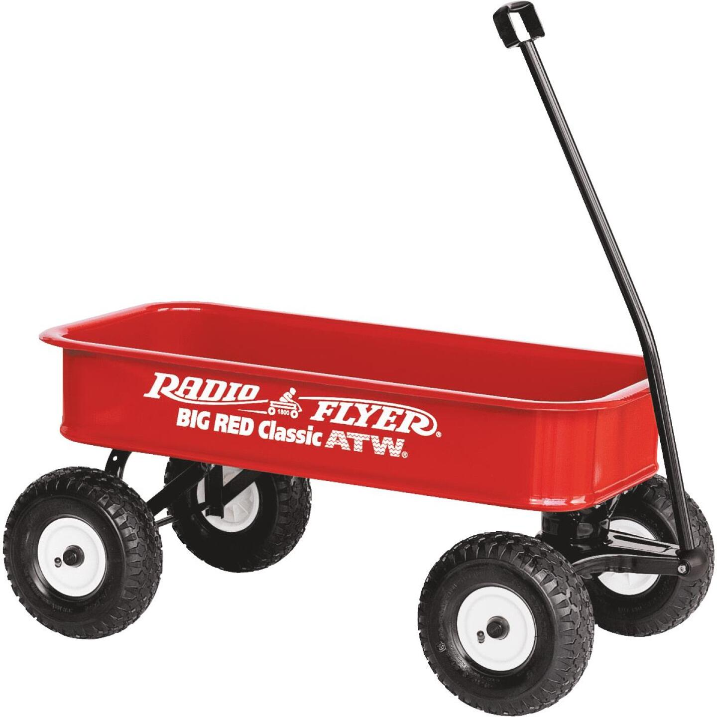 Radio Flyer Big Red Classic 36 In. ATW Wagon Image 1
