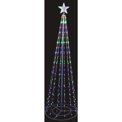 Alpine 86 In. LED Lighted Christmas Tree Tower