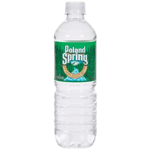 Poland Spring 0.5 Liter Bottled Spring Water Non-Deposit (24-Pack)