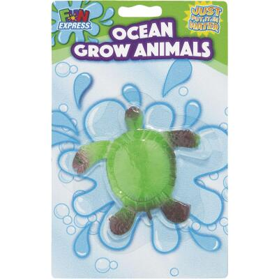 Fun Express Foam Assorted 3 Yrs. & Older Ocean Grow Animals