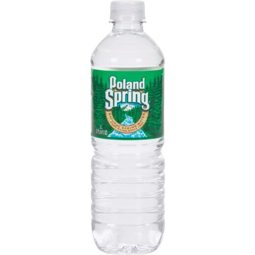 Poland Spring 0.5 Liter Bottled Spring Water Deposit (24-Pack)